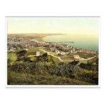 Ramsey, general view, Isle of Man, England rare Ph Postcard