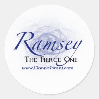 Ramsey Classic Round Sticker