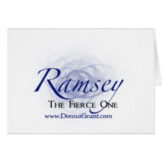 Ramsey Tarjeta De Felicitación