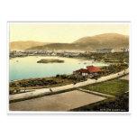 Ramsey, the park, Isle of Man, England rare Photoc Postcard