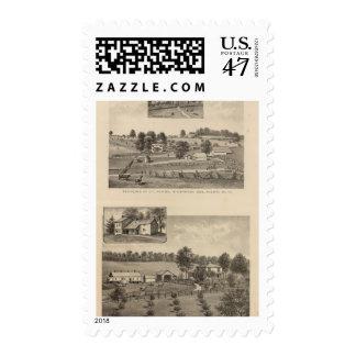 Ramsey, Williams residences Postage Stamp