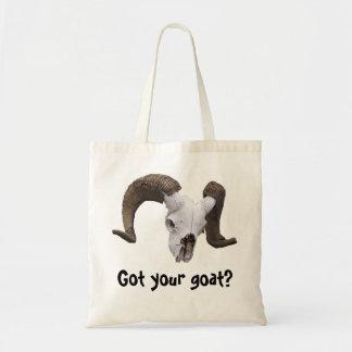 ramshead, Got your goat? Tote Bag