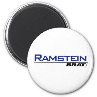 Ramstein Brat -A001L 2 Inch Round Magnet