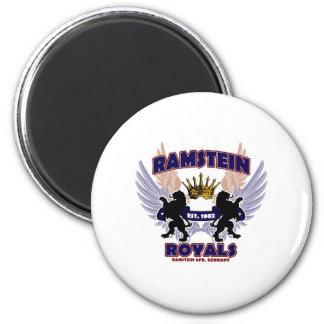 Ramstein Royals Spirit 2 Inch Round Magnet