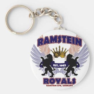 Ramstein Royals Spirit Basic Round Button Keychain