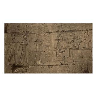 Ramusseum. Egypt circa 1867 Business Cards