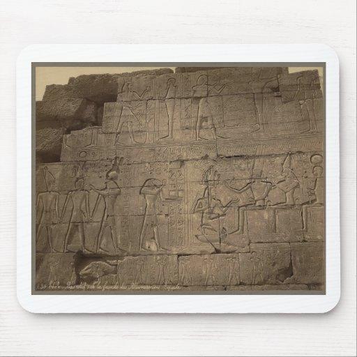 Ramusseum. Egypt circa 1867 Mousepads