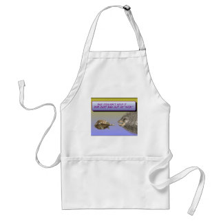"""Ran Out of """"Nice"""" Adult Apron"""