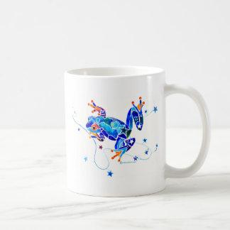 Rana arbórea azul loca de encargo taza de café