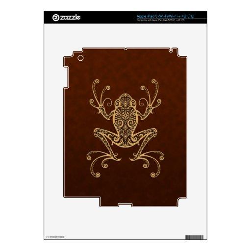 Rana arbórea compleja de Brown Pegatina Skin Para iPad 3