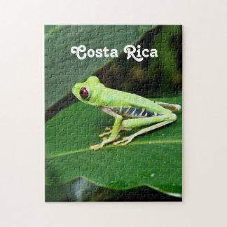 Rana arbórea de Costa Rica Rompecabeza