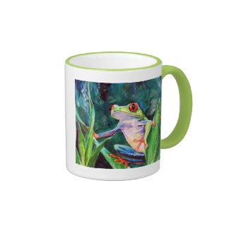 Rana arbórea de Costa Rica Taza De Dos Colores