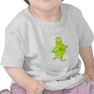 Rana arbórea de la yoga camisetas