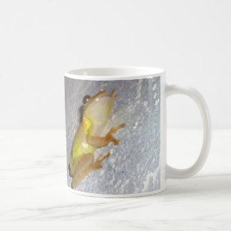 rana arbórea en estilo de la acuarela de la pared taza de café