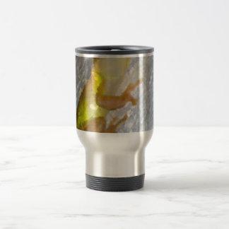 rana arbórea en estilo de la acuarela de la pared tazas de café