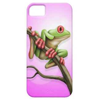 Rana arbórea iPhone 5 Case-Mate coberturas