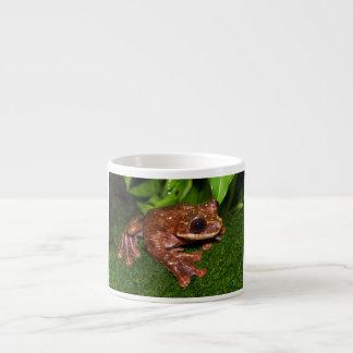 Rana arbórea Limbed de la franja de Ecnomiohyla Ra Taza Espresso