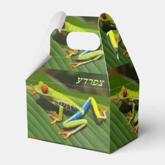 Rana arbórea paquetes de regalo para bodas
