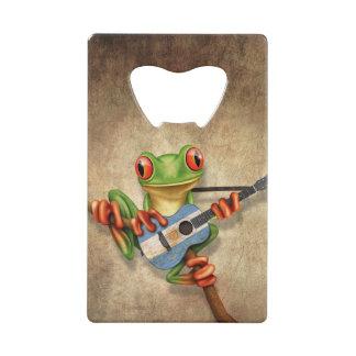 Rana arbórea que toca la guitarra argentina de la