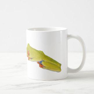 Rana arbórea Rojo-Observada Tazas De Café