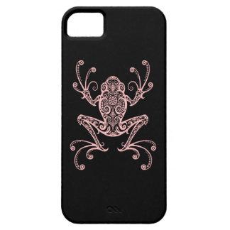 Rana arbórea rosada compleja iPhone 5 Case-Mate coberturas