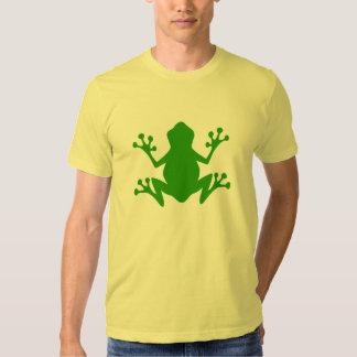 Rana arbórea verde playera