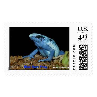 Rana azul del dardo (azureus) de Dendrobates .jpg, Franqueo