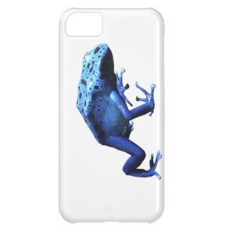 Rana azul del dardo del veneno funda para iPhone 5C
