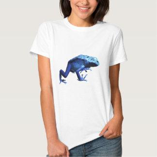 Rana azul del dardo del veneno playera