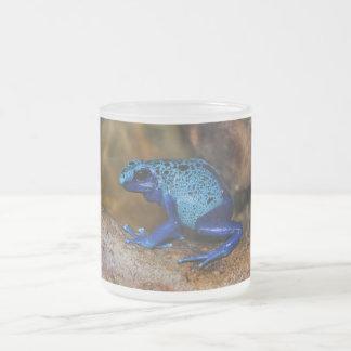 Rana azul Dendrobates Azureus del dardo del veneno Taza De Café