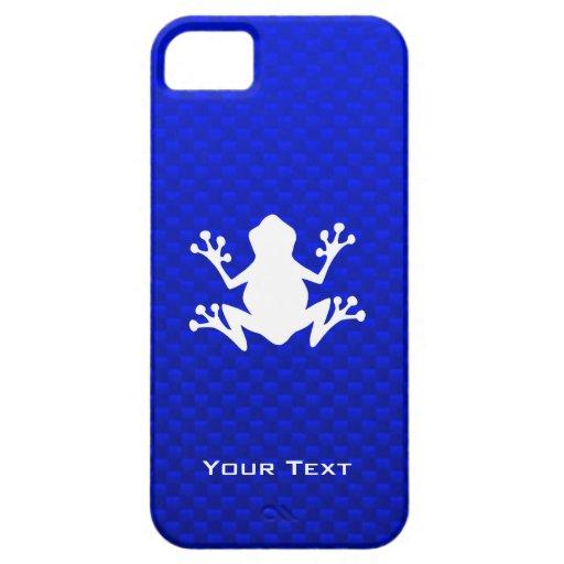 Rana azul iPhone 5 Case-Mate carcasa