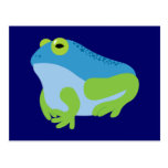 Rana azul postal