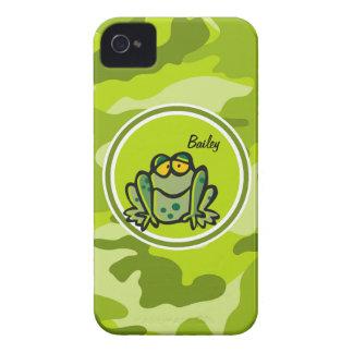 Rana camo verde claro camuflaje Case-Mate iPhone 4 cárcasa
