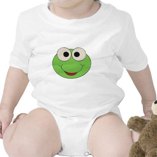 Rana-Cara (blanca) Traje De Bebé