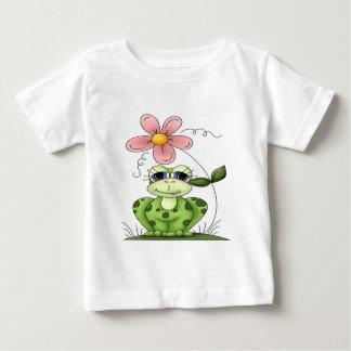 Rana con la flor t shirts