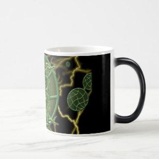 Rana cósmica tazas de café