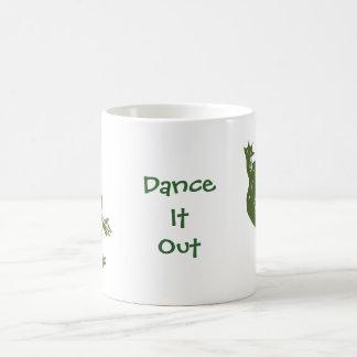 """Rana """"danza del baile él hacia fuera"""" productos tazas de café"""