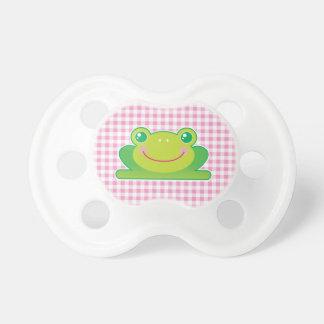 Rana de Kawaii Chupete De Bebé