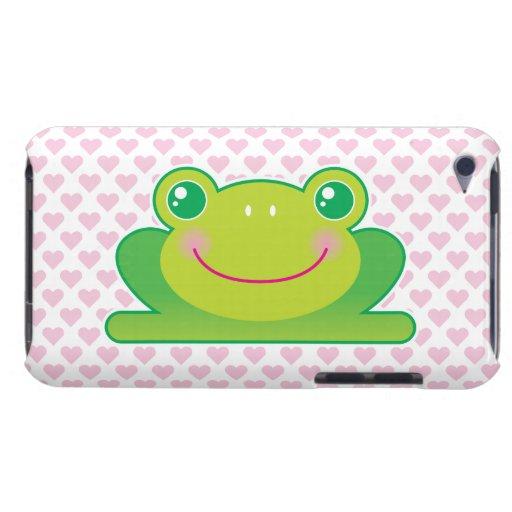 Rana de Kawaii iPod Touch Case-Mate Coberturas