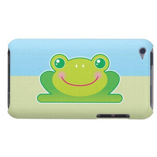 Rana de Kawaii iPod Touch Carcasas