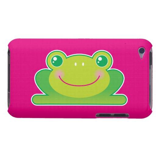 Rana de Kawaii iPod Touch Case-Mate Cárcasas