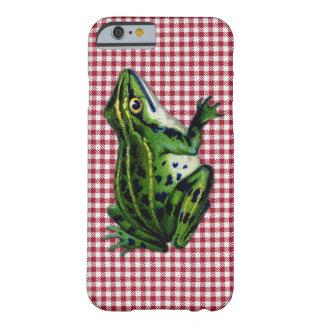 Rana de la comida campestre funda de iPhone 6 barely there