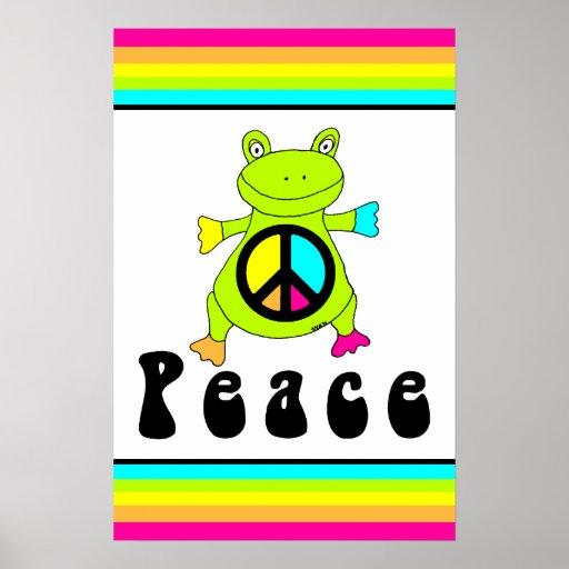 Rana de la paz poster