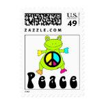 Rana de la paz sellos