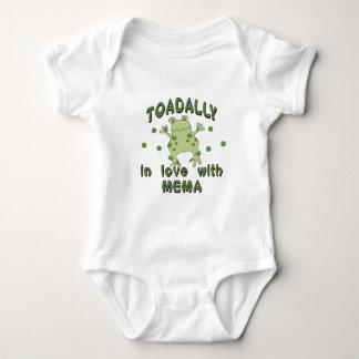 Rana de Mema del amor de TOADALLY Body Para Bebé