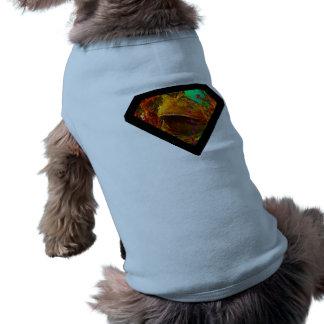 Rana de Vegas del super héroe Playera Sin Mangas Para Perro