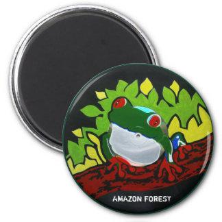 Rana del Amazonas del brasilen o Imán Para Frigorífico