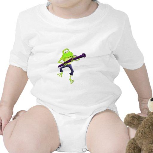 Rana del Bassoon Trajes De Bebé