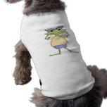 Rana del chica de Jeepers Camisas De Mascota