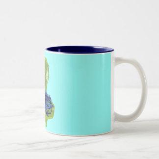 Rana del dardo del veneno tazas de café